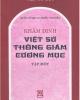 Ebook Khâm định Việt sử thông giám cương mục (Tập 1) - NXB Giáo dục