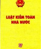 Ebook Luật Kiểm toán nhà nước - NXB Chính trị Quốc gia