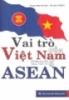 Ebook Vai trò Việt Nam trong ASEAN - NXB Thông Tấn