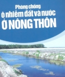 Ebook Phòng chống ô nhiễm đất và nước ở nông thôn - NXB lao động