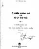 Ebook Ô nhiễm không khí và xử lý khí thải: Tập 1 - GS.TS Trần Ngọc Chấn