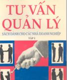 Ebook Tư vấn quản lý: Tập 1 - Nguyễn Trọng Thể