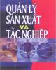 Quản lý sản xuất và tác nghiệp - TS. Nguyễn Văn Nghiến