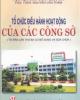 Ebook Tổ chức điều hành hoạt động của các công sở - PGS. TSKH Nguyễn Văn Thâm
