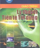 Giáo trình Lý thuyết Tiền tệ Tín dụng - Phan Thị Thanh Hà