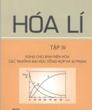 Ebook Hóa lí (Tập 3) - NXB Giáo dục