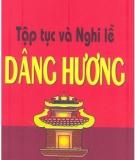 Ebook Tập tục và nghi lễ dâng hương - NXB Văn hóa dân tộc