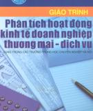 Giáo trình Phân tích hoạt động kinh tế doanh nghiệp thương mại - dịch vụ