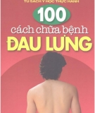 Ebook 100 cách chữa bệnh đau lưng - NXB Y học