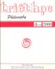 Tạp chí Triết học Số 4 (116), Tháng 8 - 2002