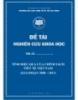 Đề tài nghiên cứu khoa học: Tính hiệu quả của chính sách tiền tệ Việt Nam( Giai đoạn 2000 – 2013)