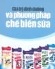 Ebook Giá trị dinh dưỡng và phương pháp chế biến sữa - NXB Lao động