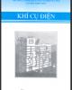 Ebook Khí cụ điện - CĐ Công nghiệp Hà Nội