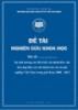 Đề tài khoa học: Sự ảnh hưởng của đòn bẩy tài chính đến việc làm đẹp báo cáo tài chính của các doanh nghiệp Việt Nam trong giai đoạn 2008-2012