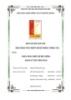 Báo cáo Bài tập lớn: Phân tích thiết kế hệ thống quản lý thư viện sách