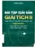 Ebook Bài tập giải sẵn Giải tích II - Trần Bình