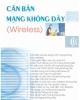 Ebook Căn bản mạng không dây - Nguyễn Thế Bỉnh