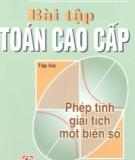 Ebook Bài tập toán cao cấp: Tập 2 (Phép tính giải tích một biến số) - Nguyễn Đình Trí (chủ biên)