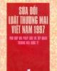Ebook Sửa đổi luật Thương mại Việt Nam 1997 phù hợp với pháp luật và tập quán Thương mại quốc tế - GS.TS. Nguyễn Thị Mơ