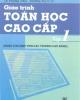 Giáo trình Toán học cao cấp: Tập 1 - Chủ biên:  Nguyễn Đình Trí