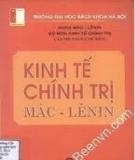 Sách hướng dẫn học Kinh tế chính trị Mác - Lênin - Học Viện Công Nghệ Bưu Chính Viễn Thông