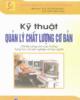Kỹ thuật Quản lý chất lượng cơ bản - ĐH Công nghiệp Hà Nội