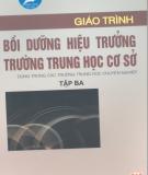 Giáo trình Bồi dưỡng hiệu trưởng trường trung học cơ sở: Tập 3 - NGƯT.ThS. Chu Mạnh Nguyên (chủ biên)