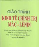 Giáo trình Kinh tế chính trị Mác - Lênin: Phần 1 - PGS.TS. Nguyễn Văn Hảo, PGS.TS. Nguyễn Đình Kháng (đồng chủ biên)