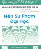 Ebook Nền sư phạm đại học: Phần 1 - Pol Dupont & Marcelo Ossandon