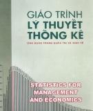 Giáo trình Lý thuyết thống kê: Phần 1 - Hà Văn Sơn (chủ biên)