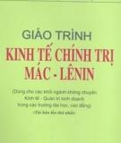 Giáo trình Kinh tế chính trị Mác - Lênin: Phần 2 - PGS.TS. Nguyễn Văn Hảo, PGS.TS. Nguyễn Đình Kháng (đồng chủ biên)