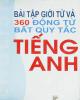 Ebook Bài tập giới từ và 360 động từ bất quy tắc tiếng Anh: Phần 1 - Trần Mạnh Tường