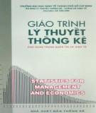 Giáo trình Lý thuyết thống kê: Phần 2 - Hà Văn Sơn (chủ biên)