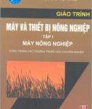 Giáo trình Máy và Thiết bị nông nghiệp: Tập I (Máy nông nghiệp) - Trần Đức Dũng (chủ biên)