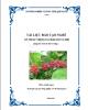 Tài liệu đào tạo nghề Kỹ thuật trồng và chăm sóc cà phê: Phần II - Sở NN&PTNT Quảng Trị