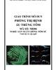 Giáo trình Mô đun Phòng trị bệnh ấu trùng tôm: Phần 2 - Nguyễn Thị Phương Thanh (chủ biên)