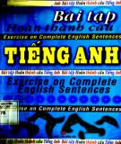 Ebook Bài tập hoàn thành câu Tiếng Anh: Phần 1 - Thanh Huyền
