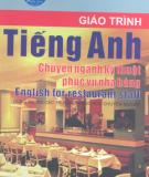 Giáo trình Tiếng Anh chuyên ngành kỹ thuật phục vụ nhà hàng