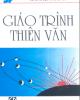 Giáo trình Thiên văn: Phần 1 - Phạm Viết Trinh, Nguyễn Đình Noãn