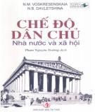 Ebook Chế độ dân chủ: Nhà nước và xã hội (Phần 1) - N.M. Voskresenskaia, N.B. Davletshina