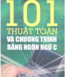 Ebook 101 thuật toán và chương trình bài toán khoa học kỹ thuật và kinh tế bằng ngôn ngữ C