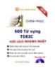 Ebook Chinh phục 600 từ vựng Toeic một cách nhanh nhất