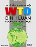 Ebook Cam kết về dịch vụ khi gia nhập WTO Bình luận của người trong cuộc - NXB Thống kê