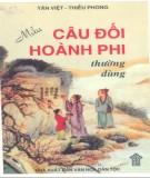 Ebook Mẫu câu đối hoành phi thường dùng: Phần 1 - Tân Việt, Thiều Phong