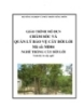 Giáo trình Quản lý bảo vệ cây bời lời - MĐ04: Trồng cây bời lời