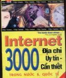 Ebook 3000 Địa chỉ internet cần thiết - NXB Giáo dục