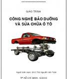 Giáo trình công nghệ bảo dưỡng và sửa chữa ô tô - TS. Nguyễn Văn Toản