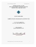 Luận văn Tốt nghiệp: Nghiên cứu khả năng bảo quản lạp xưởng tươi