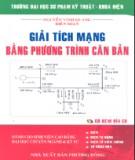 Ebook Giải tích mạng bằng phương trình căn bản - Nguyễn Vinh Quang