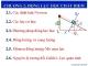 Bài giảng Vật lý đại cương: Chương 2 - Lê Văn Nam